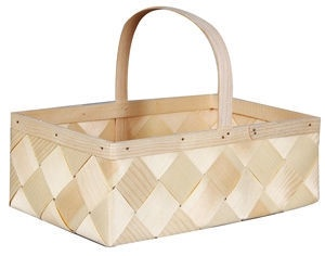 Verners Wood Basket 33x21