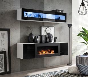 ASM Fly N2 Living Room Wall Unit Set Black/White