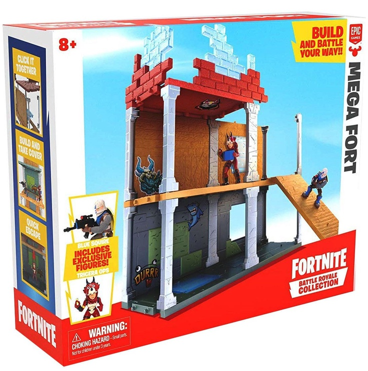 Žaislinė figūrėlė Epic Games Fortnite Battle Royale Collection Mega Fort Playset