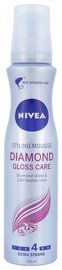 Nivea Diamond Gloss Care Styling Extra Strong Hair Mousse 150ml