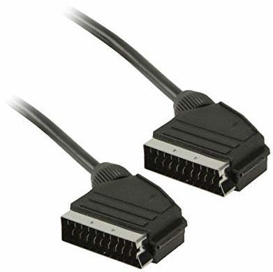 Roger Scart to Scart Video Cable 5m Black