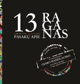 Knyga 13 lietuvių liaudies pasakų apie raganas