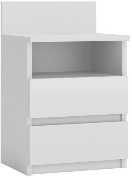 Naktinis staliukas Top E Shop M1 Malwa White