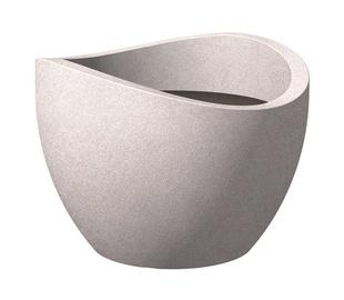 Вазон Scheurich TAUPE-GRANIT 250/30, серый