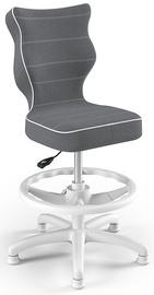 Entelo Petit Black HC+F Size 3 Children Chair JS33 White/Dark Grey
