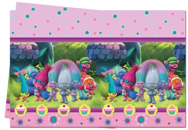 Procos DreamWorks Trolls Table Cover 120x180cm