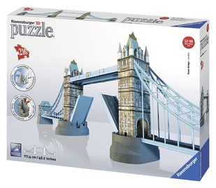 3D dėlionė Ravensburger Tower Bridge 12559, 216 dalių