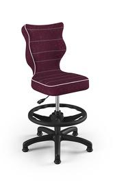 Детский стул Entelo Petit Black HC+F VS07, фиолетовый, 370x350x950 мм