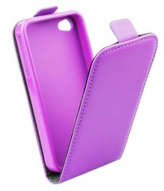 Forcell Flexi Slim Flip for Samsung G900 Galaxy S5 Violet