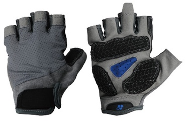 Велосипедные перчатки Ferts FSGLV-099 7223019, черный/серый, XL