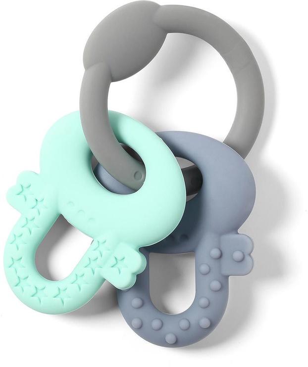Прорезыватель BabyOno Ortho Keys Gray