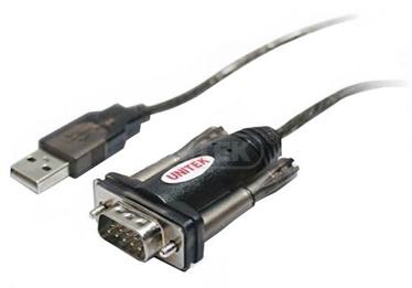 Unitek Adapter USB to DB9 Black 1.4m
