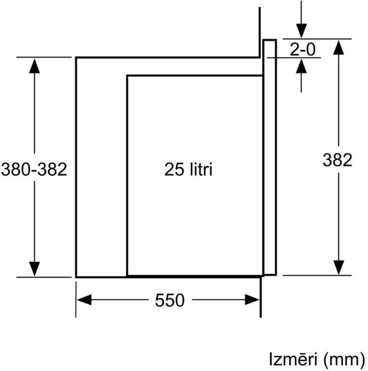Bosch Serie 6 BFL554MS0