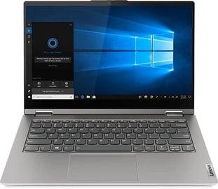 """Nešiojamas kompiuteris Lenovo ThinkBook 14s Yoga Gray 20WE0001MH PL Intel® Core™ i7, 16GB/512GB, 14"""""""