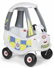 Little Tikes Ride on Cozy Police White