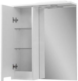 Vento Kvatro 55 White Cabinet With Mirror