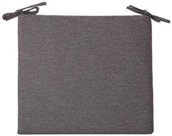 Подушка на стул Home4you Summer Chair Pad 43x38x2.5cm Black