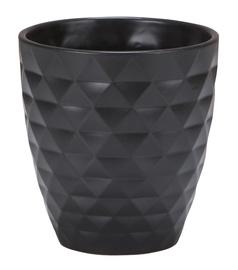 Scheurich 632/12 Flower Pot 12cm Black