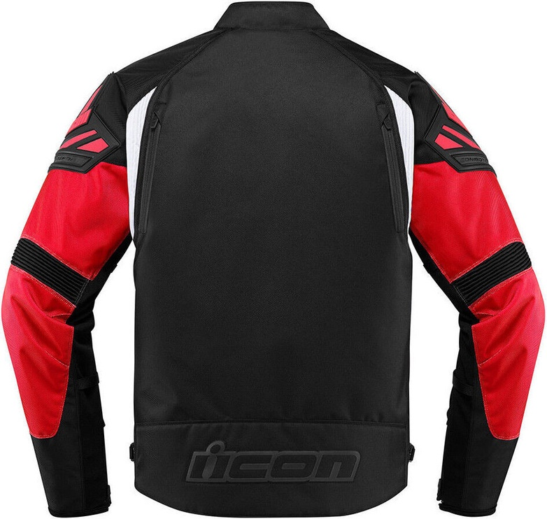 Icon Moto Jacket Automag Red L