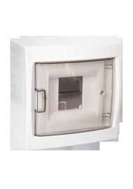 Virštinkinė automatinių jungiklių dėžutė Mutlusan, 4 modulių