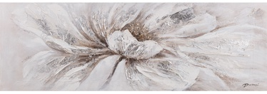 Home4you Oil Painting 50x150cm White Flower