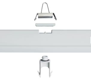 Specialiųjų patalpų šviestuvas Trevos Prima 236, 2X36W, G13