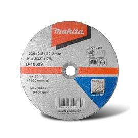 Pjovimo diskas Makita D-18699, 230 x 2.5 x 22.23 mm
