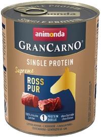 Animonda GranCarno Single Protein Dog Wet Food With Pure Horse 800g