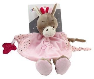 Axiom Cuddly Milus Donkey Pink 25cm