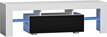 Pro Meble Milano 130 With Light White/Black