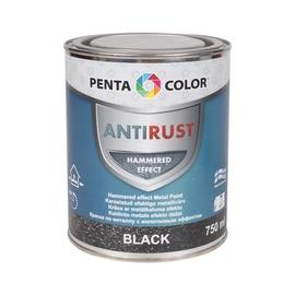 Krāsa metāla virsmām Pentacolor melna 750ml