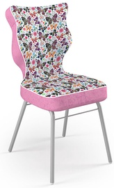 Vaikiška kėdė Entelo Solo Size 5 ST31 Pink/Butterflies, 390x390x850 mm