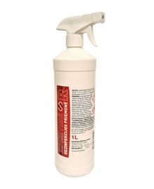 Spiritinė rankų dezinfekcijos priemonė su purkštuku, 1000 ml