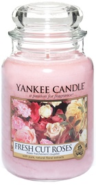 Yankee Candle Classic Large Jar Fresh Cut Roses 623g