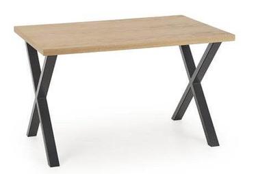 Pusdienu galds Halmar Apex 120 Oak/Black, 1200x780x760 mm