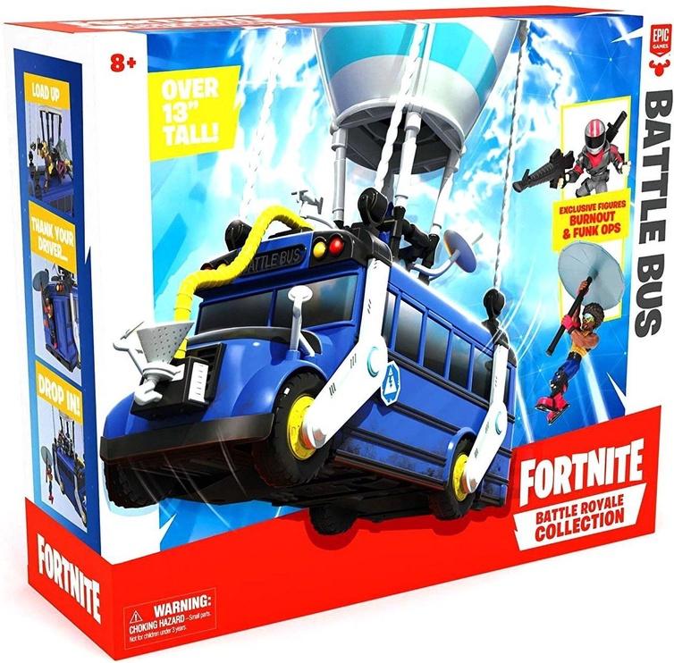 Jazwares Fortnite Epic Games Battle Bus Playset