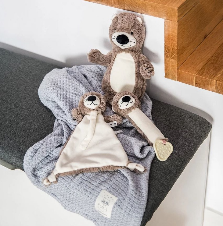 Игрушка для сна BabyOno Otter Maggie With Pacifier Holder