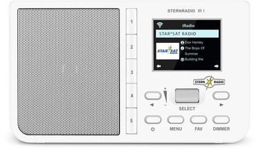 TechniSat Sternradio Ir 1 White
