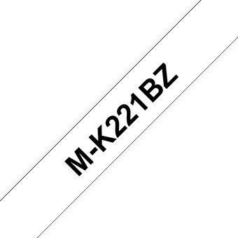 Этикет-лента для принтеров Brother M-K221BZ, 800 см