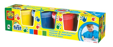 SES Creative Washable Finger Paints 4pcs 14413