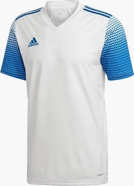 Футболка с короткими рукавами Adidas Regista 20 Jersey White/Blue 2XL
