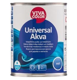 Puidu- ja metallivärv Universal Akva A 0,9 L, matt