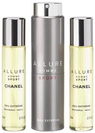 Tualetes ūdens Chanel Allure Sport Eau Extreme 3x20ml EDT