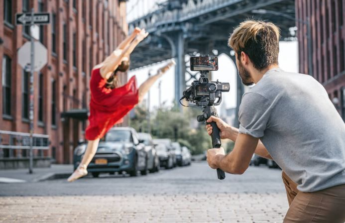 DJI Ronin-SC Pro Gimbal Stabilizer For Mirrorless Cameras