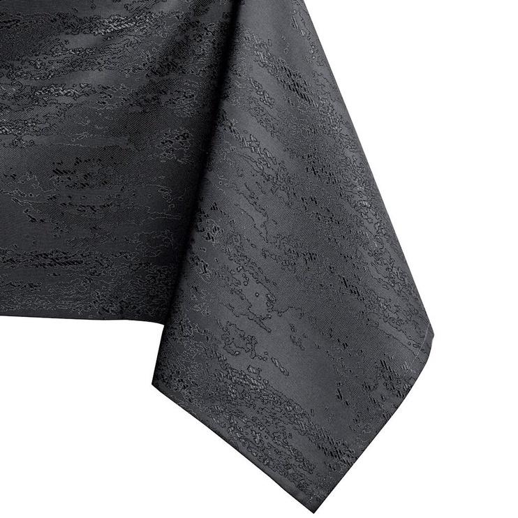 Скатерть AmeliaHome Vesta HMD Dark Grey, 130x180 см
