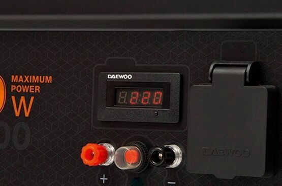 Генератор Daewoo GDA 3500E, 2800 Вт
