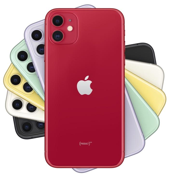 Mobilusis telefonas Apple iPhone 11 Red, 128 GB