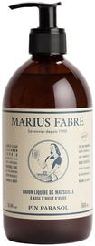 Marius Fabre Marseilles Olive Oil Liquid Soap Pin Parasol 500ml