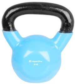 inSPORTline Vinyl Coated Dumbbell Blue 8kg 10748
