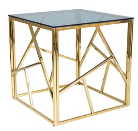 Signal Meble Escada B Coffee Table Gold
